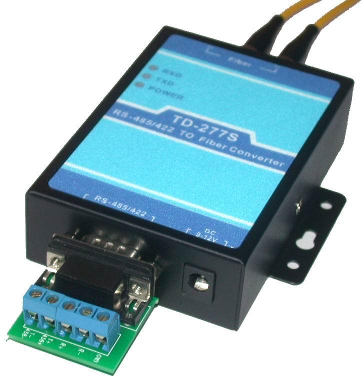 RS485/422转单模光纤