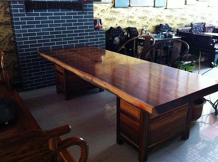 实木原木红木家具类/非洲菠萝格木大板