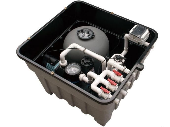广西泳池设备公司哪个好 地埋式过滤设备