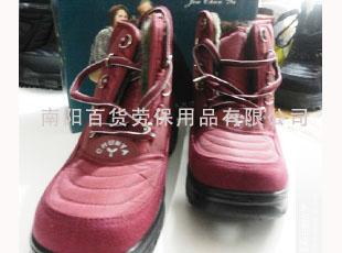 红色防护鞋