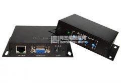 电脑VGA信号延长器,网线传输300米带音频