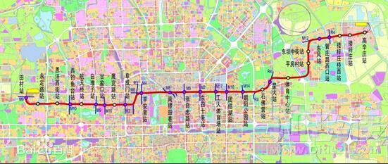 目前,北京地铁6号线,亦庄线,昌平线均有提高运力的空间,但由于线路
