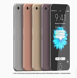iphone7概念机图片 苹果7代手机图片
